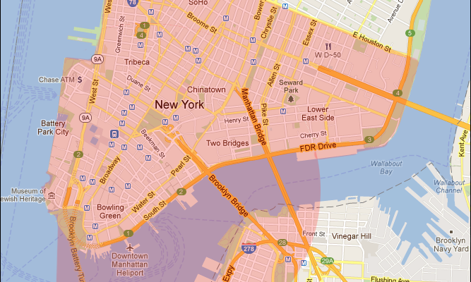 New York City Disaster Area