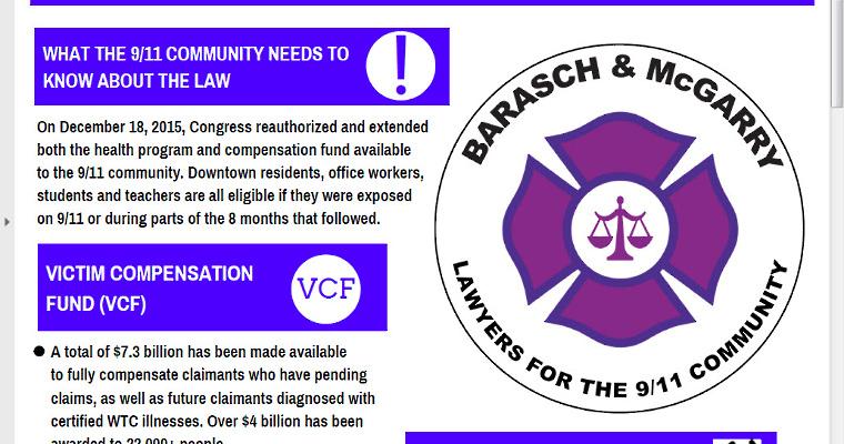 WTC Health Program & 9/11 Victim Compensation Fund Information