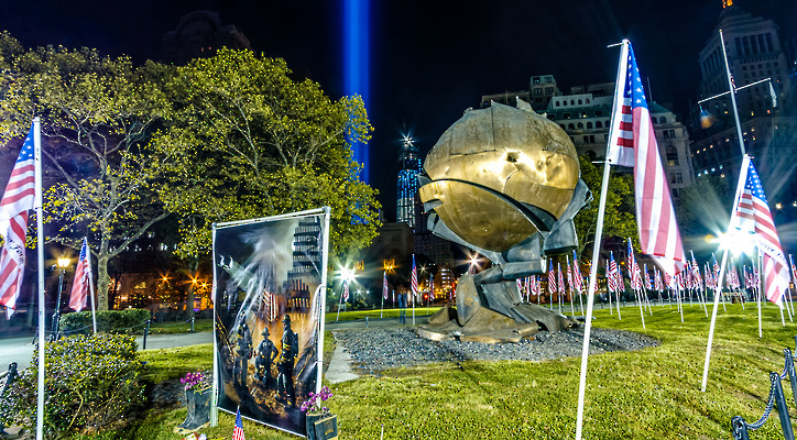 Tribute to 9/11 Rescue and Recovery Workers Takes Shape