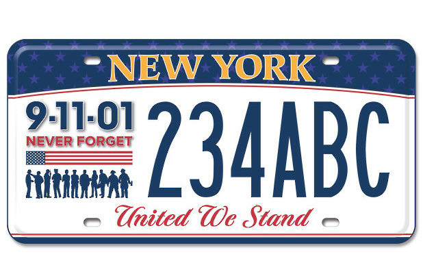 Sales of License Plates Commemorating 9/11 Off to a Strong Start